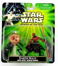 2001 Star Wars Power of The Jedi Deluxe Action Figure - Darth Maul With Sith