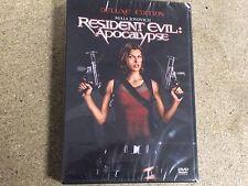 * NEW SEALED DVD Film * RESIDENT EVIL APOCALYPSE DELUXE EDITION * black sleeve