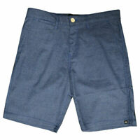 Quik Silver Men's Dark Blue Chino Shorts (Retail: $55.00)