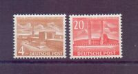 Berlin 1953 - Berliner Bauten - MiNr.112/113 postfrisch** - Michel 70,00 € (458)