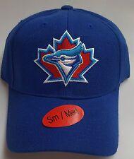 New! MLB Toronto Bluejays Blue Embroidered Adjustable Snapback Cap(Small/Medium)