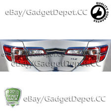 Taillight Bezel Trim For 2012 2013 2014 TOYOTA CAMRY Chrome Tail light Cover