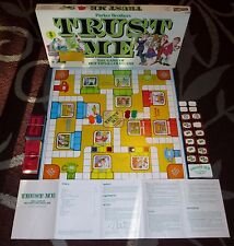 Vintage 1981 Parker Brothers TRUST ME The Game of Hot Tips & Cold Cash No. 178