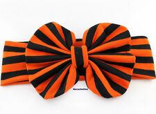 5inch Bow Stripe Girls Headband hair Accessories Elastic hair band