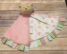 Baby Ganz Pink Hedgehog Security Blanket Lovey Pastel Tags