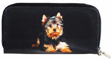 More details for large size yorkshire terrier puppy dog design ladies purse
