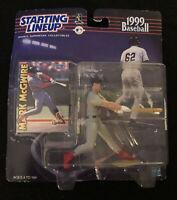 1999 STARTING LINEUP SLU MLB MARK McGWIRE ST LOUIS CARDINALS NEW SEALED