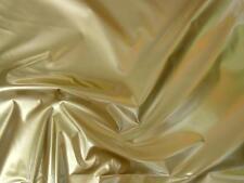 % GOLD LACK-STOFF LACKLEDER SCHWER FLEXIBEL STABIL STOFF STOFFE METERWARE |BGI8