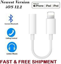 New Lightning to 3.5 mm Headphone Jack Adapter For Phone 7 8 Plus X Bluetooth