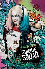 SUICIDE SQUAD - HARLEY QUINN STARS POSTER - 22x34 MOVIE DC COMICS 15152