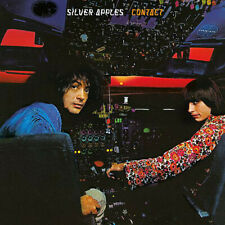 Silver Apples - Contact Numbered LP Colored Clear Vinyl - Sealed RECORD ALBUM