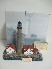 """New listing Harbour Lights """"Boon Island"""" Maine #273 - No. 1873/Timed Addition - Coa w/Tag!"""