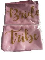Pack Of 5 Bride Tribe Pink Hen Night Sashes