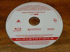 Gran Turismo 5 Prologue Playstation 3 PS3 Promo Disc