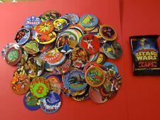 Pogs 120 Miscellaneous Variety + Star Wars Pack * 1 Slammer/4 Caps * 1995