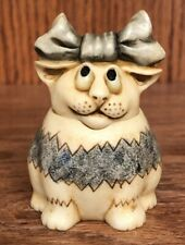 "Harmony Kingdom Ball Pot Bellys ""Maya"" May Calendar Cat Figurine 2001"
