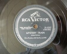 Elvis Presley - Mystery Train / I Forgot To Remember To Forget 78RPM 10""