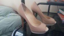 Giuseppe Zanotti 40 pink blush high heel shoes 06086 as is used