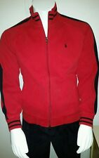 Ralph lauren red zipper front vintage xl with pockets out side and inside