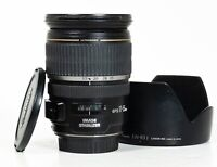 Canon EF-S 17-55mm F/2.8 IS USM Lens - With Front & Rear Lens Cap & Lens Hood