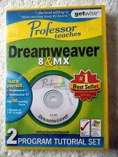 45050 - Professor Teaches Dreamweaver 8 & MX [NEW & SEALED] - PC (2006)