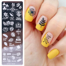 Nail Art Stamping Plates Fashion Lace Flower Cats Templates Polish Stamper DIY