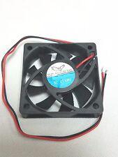 Computer - Amplifier - laptop DC Fan 12VDC 12V 90MA 60MM X 60MM X 15MM 2-1/3in