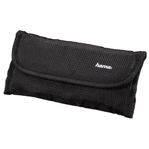 HAMA CAMERA OPTICAL LENS FILTER STORAGE CASE POUCH BAG HOLDS 6 FILTERS 126664