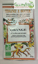 Biopastilles - Tisanes à sucer Orange Bio - 15 g