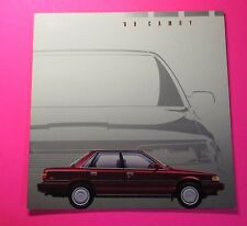 1989 TOYOTA CAMRY MODEL LINE-UP  SHOWROOM SALES BROCHURE....14 - PAGES