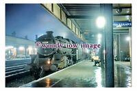 gw0221 - British Railway Engine 45208 at Doncaster Station 1967 - photograph 6x4