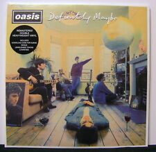 OASIS 'Definitely Maybe' Gatefold Remastered Vinyl 2LP + Download NEW & SEALED