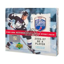 2006-07 Upper Deck Be A Player Signature Hockey Hobby Box