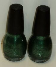 2 Bottles Of Sinful Colors Professional Nail Enamel Nail Polish PINE AWAY #1398