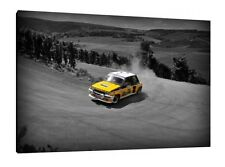 Renault 5 GT Turbo - 30x20 Inch Canvas Art - Framed Picture Print