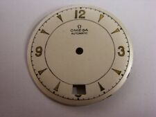 Cadran Omega Automatic Dato 1950's Vintage watch dial Watchmaker Uhrmacher