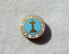 Vintage The National Council of American Baptist Women Pin Vtg 1951