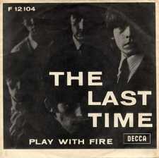 "ROLLING STONES ""THE LAST TIME"" ORIG DENMARK/UK 1965 (BLANK BACK)"