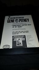 Gene Pitney Something's Gotten Hold Of My Heart Rare Promo Poster Ad Framed!