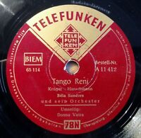"Bela Sanders - Tango Reni - Donna Vatra - /10"" 78 RPM"