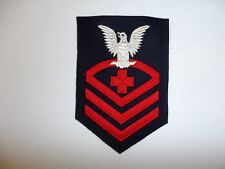 11003 WW 2 US Navy Pharmacist's Mate Chief Petty Officer CPO Blue Corpsman PB4