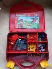 Lego Juniors Maletín de Bomberos Set 10685 2 Bombero Minifiguras m'bike helicóptero