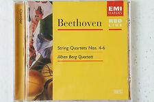 Beethoven String Quartets Nos 4 5 6 Alban Berg Quartet  Box33