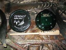 """Glass Friction Turkey Pot Call """"NEW"""" Hunting FearNot Game Calls"""