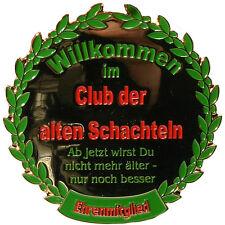 Orden Willkommen im Club der alten Schachteln Geschenk Medaille 126019813