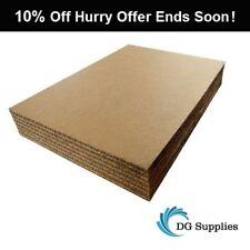 A5 A4 A3 A2 A1 A0 Rigid Cardboard Corrugated Sheets Pads Divider Art Craft Board