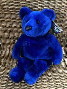"Salvinos Big Bammers #21 Sammy Sosa 14"" Blue Collectible Teddy Bear Plush NEW"