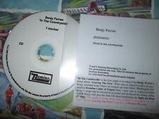 Benjy Ferree In The Countryside TRACKER Domino Records UK Promo CD Single