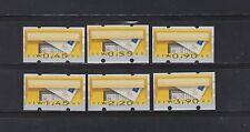 Postfrische Automatenbriefmarken als Satz aus der Bundesrepublik