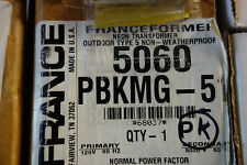 FRANCE electric Sign Repair Parts 5060 PBKMG OUTDOOR TYPE 2  Neon Transformer